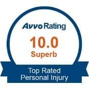 Top Rated Personal Injury Lawyer on Avvo